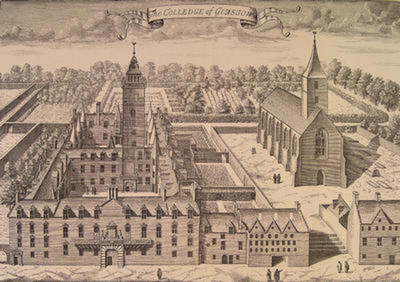 The Old College, c 1680