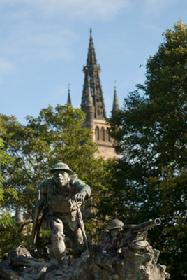 Cameronians (Scottish Rifles) War Memorial