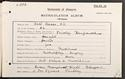 Kate Fraser's matriculation record, 1901