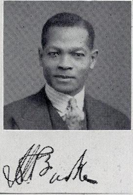 Irving W Burke, MBChB 1935