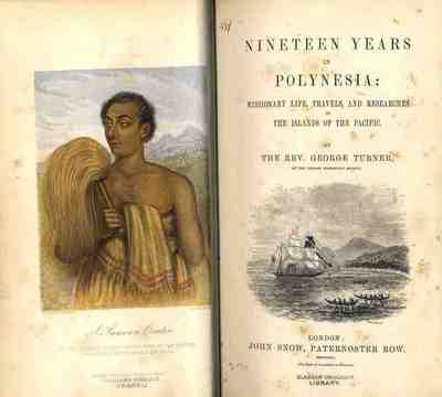 Title pages of Nineteen Years in Polynesia