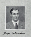 James Bryan Fotheringham in final year medical dinner book, 1914